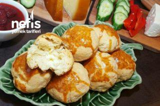 Dereotlu İçi Peynirli Pastane Poğaçası Tarifi