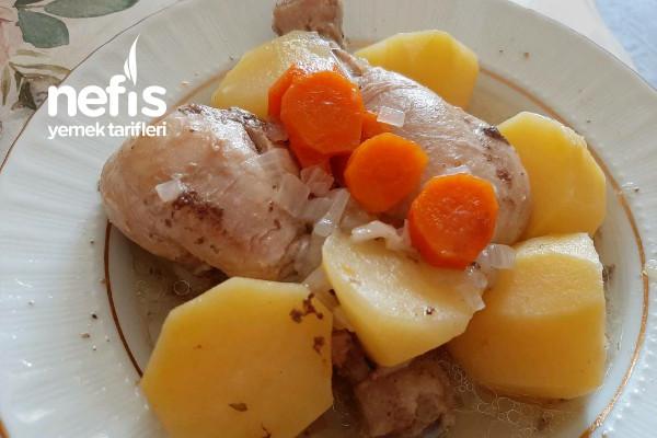Patatesli Tavuk Haşlama Tarifi