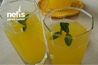Doğal Ev Yapımı Limonata  2 Portakal 1 Limon İle (Videolu) Tarifi