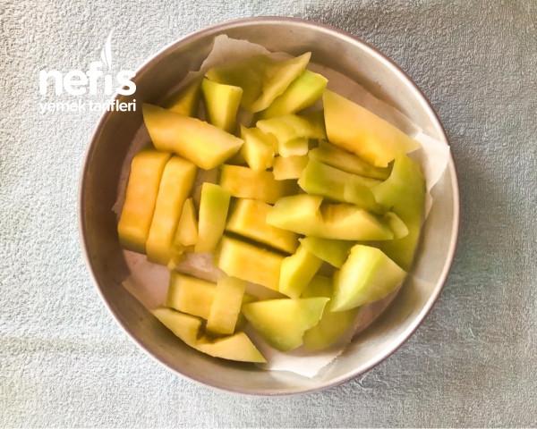 Kavun Meyveli Dondurma (Cantaloupe Sorbet)