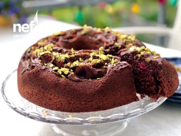 Vişneli Browni İntense Tadında Nutellalı Kek