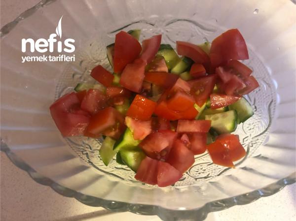 Diyet Salatam (Dolu Dolu Bir Öğün İçin)