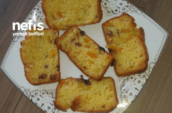 Kuru Kayısılı – Kuru Üzümlü Kek