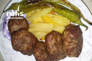 Anne Usulü Fırında Köfte Patates Tarifi