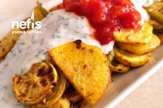 Fırında Kabak Patates Tarifi