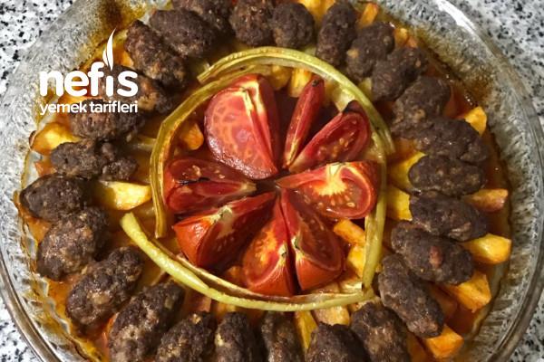 Fırında Patates Köfte Yemeği Tarifi