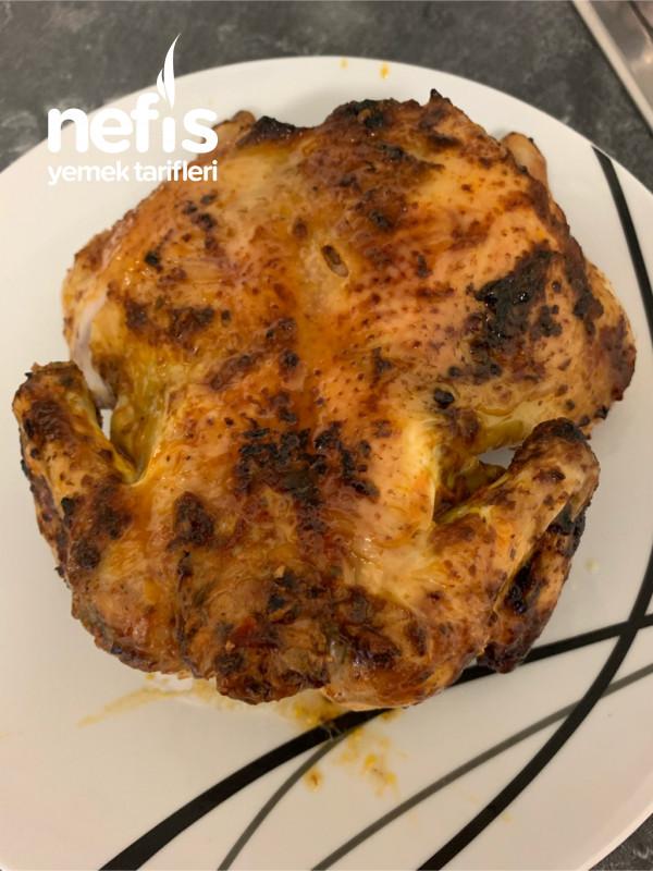 Fırında Tüm Tavuk
