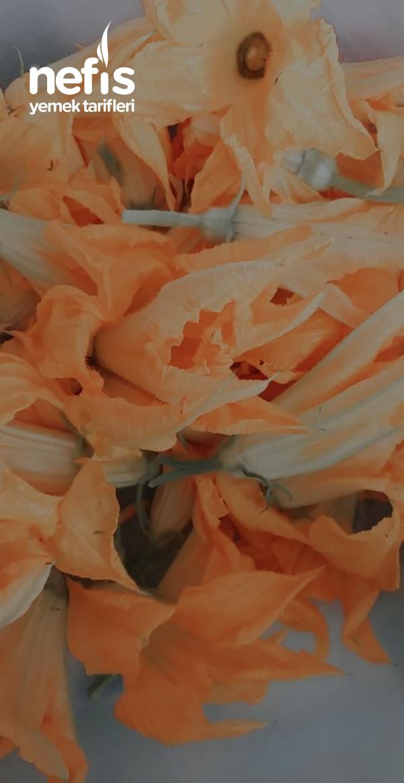 Kabak Çiçeği Dolması (Bol Yeşillikli)