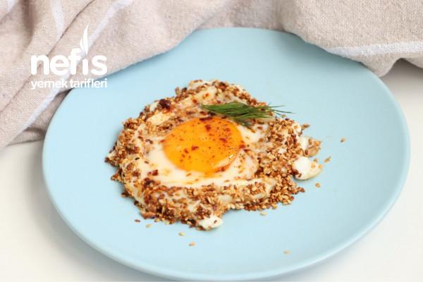 Simitli Yumurta Tadında Omlet