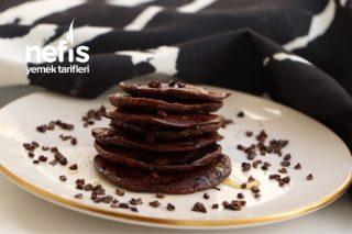 3 Malzemeli Diyet Pratik Pankek (Glutensiz) Tarifi