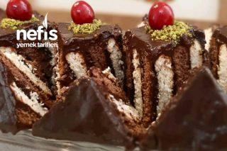 Çocukluğumuzda En Sevilen (Bisküvili Pasta) Tarifi
