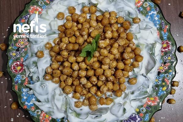 Nohutlu Semizotu Salatası Tarifi