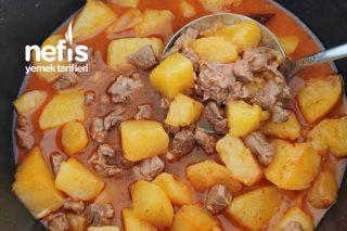 Salçasız Etli Patates Yemeği Tarifi