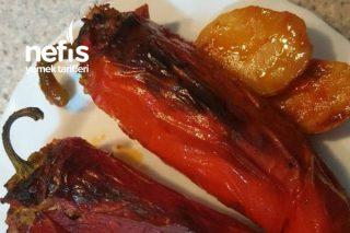 Kırmızı Biber Dolması (Fırında) Tarifi