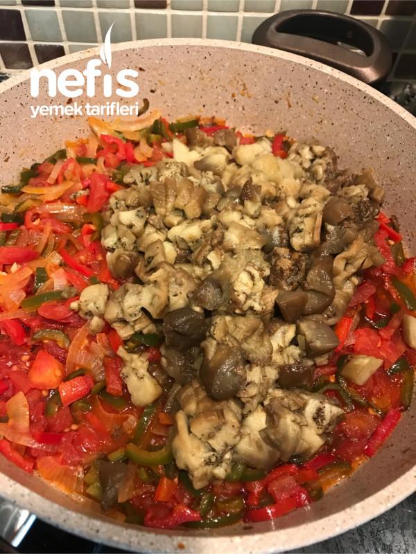 Amasya'dan Nefis Patlıcan Çullama