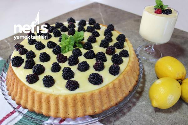 Bu Sıcaklarda Aradığınız Tatlı Limonlu Muhallebili Kek