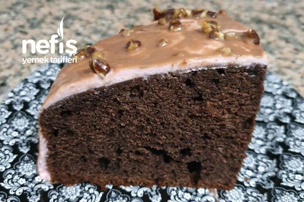 Kek Pasta (Yiyenler Yaş Pasta Sanıyor Ama Bildiniz Kek) Tarifi