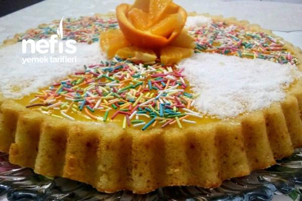 Portakal Soslu Renkli Pasta Tarifi