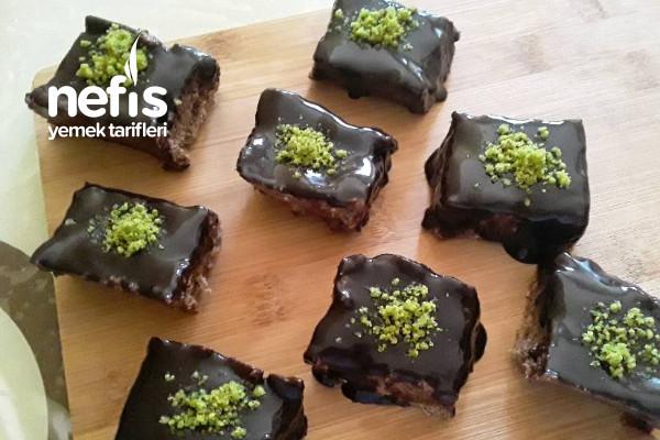 Çikolatalı Kesme Dilimli Truf (Çay Ve Kahvenin Yanına Harika Bir Lezzet) Tarifi