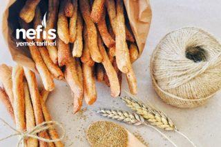 Haşhaşlı Tam Buğday Unlu Grissini Tarifi