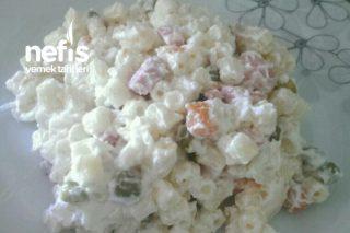 Makarna Salatası(Amerikan Salatası) Tarifi