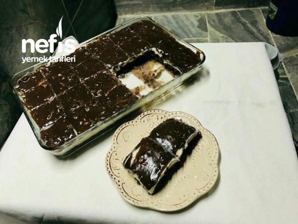 Cikolatali Cevizli Pasta Videolu