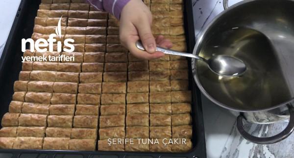 Fındıklı Sarma Baklava (Videolu)