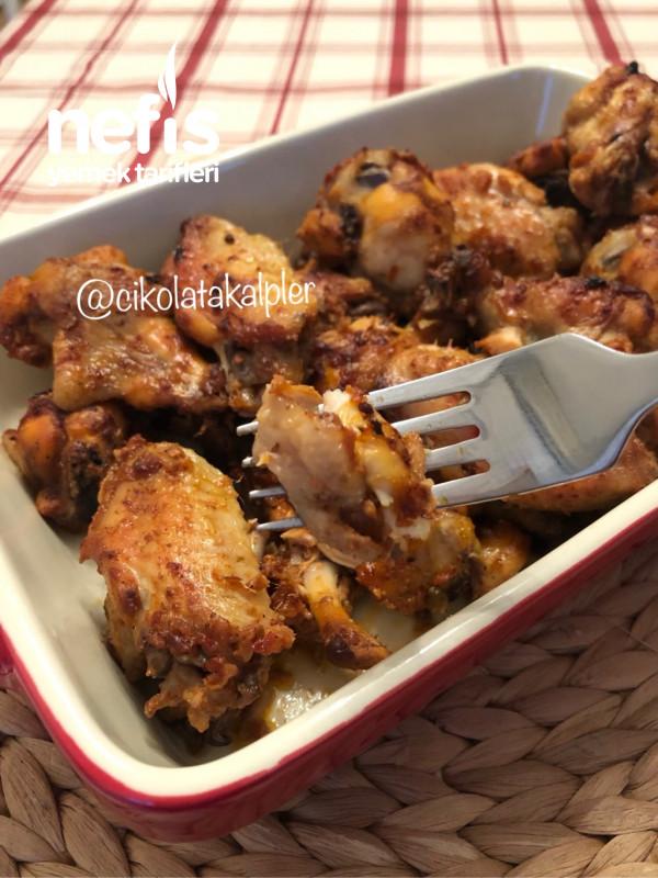 Mangal Tadında Fırında Tavuk