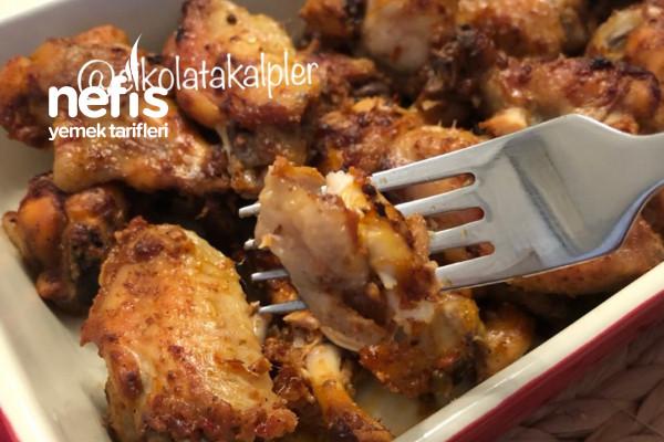 Mangal Tadında Fırında Tavuk(Videolu) Tarifi