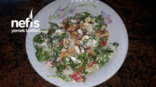 Semizotlu Salata (Görümce Diyeti Akşam Yemegi)
