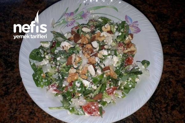 Semizotlu Salata (Görümce Diyeti Akşam Yemeği)