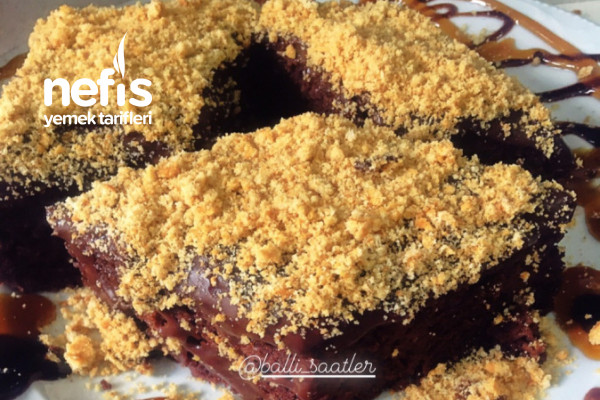 Çikolatalı Pudingli Kek
