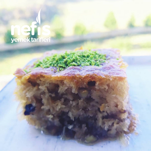 Kadayıflı Kek Tatlisi