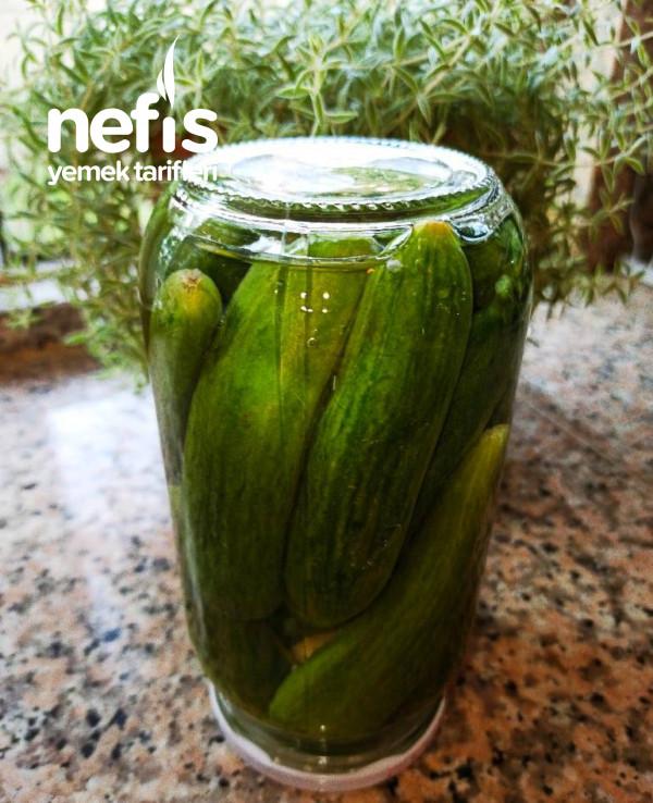 Yaz Turşusu Sıcak Su İle 4 Günde Yemeye Hazır