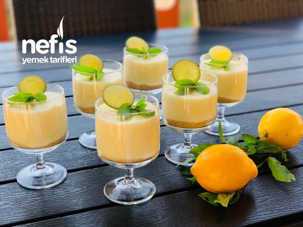 Dondurma Tadında Nefis Limonlu Muhallebi