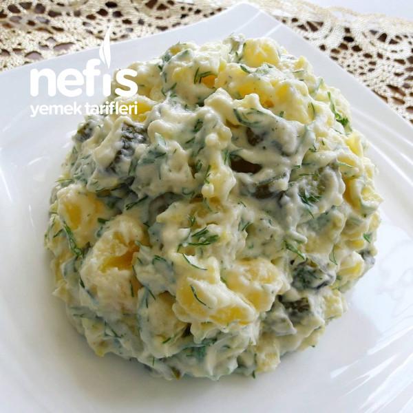 Soslu Patates Salatası