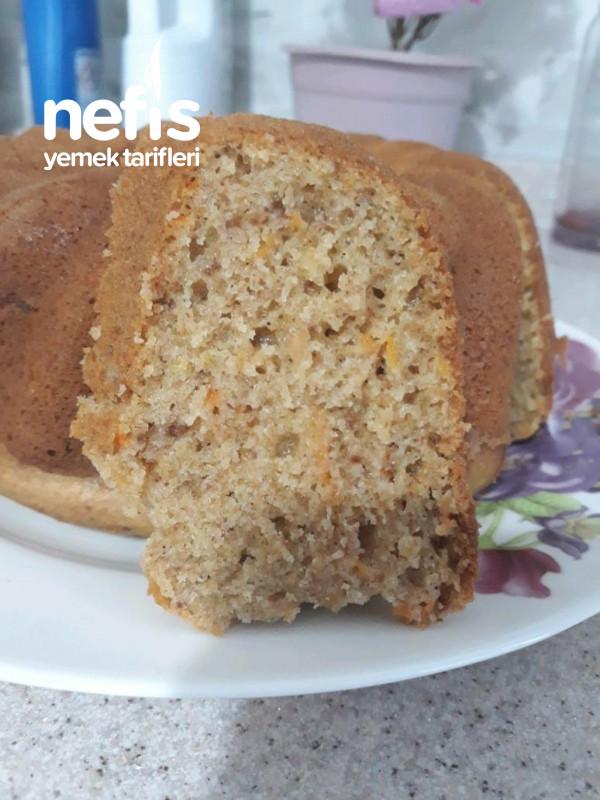 Tam Buğday Unlu Tarçınlı Cevizli Havuçlu Kek