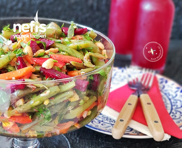 Yeşil Fasulye Salatası Tarifi