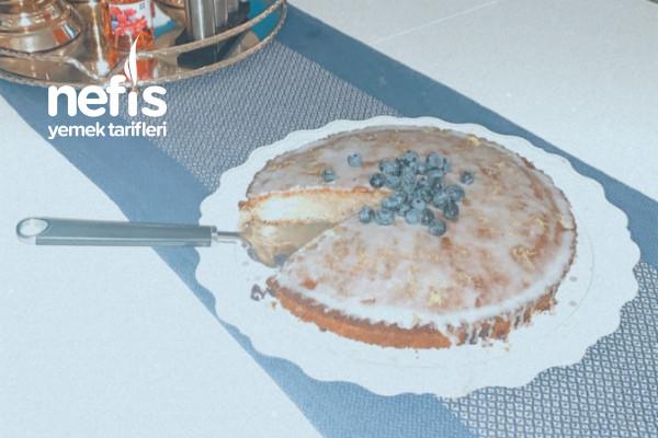 Doyamayacağınız Çok Kolay Limonlu Blueberry/Yaban Mersinli Pasta Tarifi
