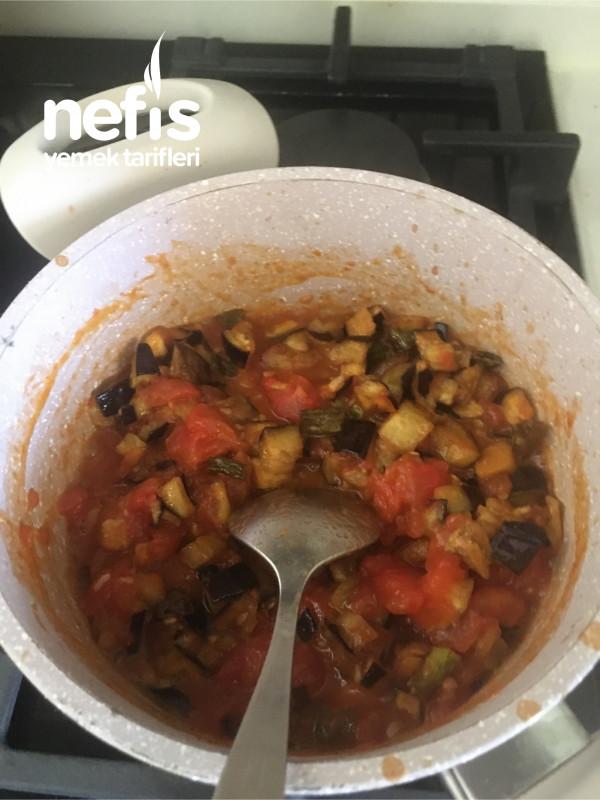 Nefis Kahvaltılık Etimekli Patlıcan