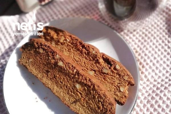 Süt Reçelli Biscotti Tarifi