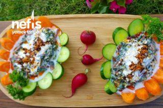Yoğurtlu Semizotu Salatası (Videolu) Tarifi