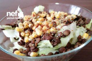 Mercimekli Protein Salatası Tarifi