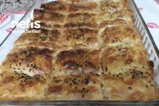 Milföylü Yufkalı  Puf Börek Tarifi