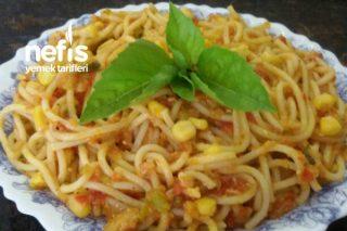 Mısırlı Spaghetti Makarna Tarifi