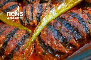 Patlıcanlı Yelpaze Kebabı (Çok Pratik Ve Lezzetli) Tarifi