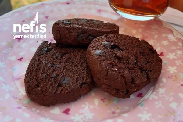 American Cookie (Kakaolu Kurabiye) Tarifi