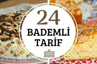 Bademin Tat Kattığı Tatlı-Tuzlu 24 Tarif Tarifi