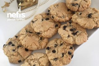 Fındıklı Damla Çikolatalı Cookie Tarifi