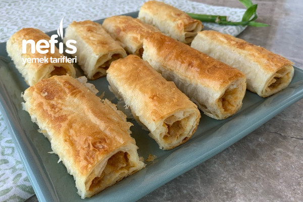 Patatesli Börek Tarifi Bütün Sırrı Sosunda Gizli (Videolu)